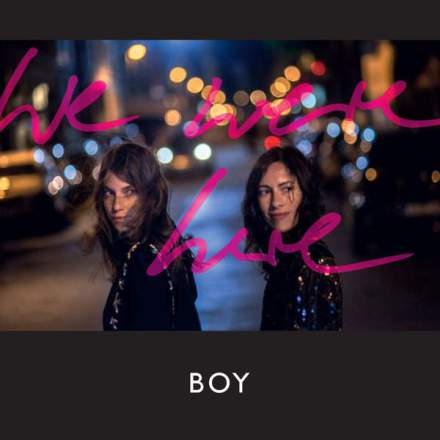 BOY - We Were Here - album cover